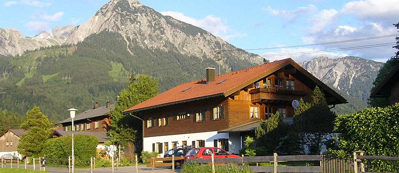 Ferienhaus zwischen Fischen & Oberstdorf im Allgäu